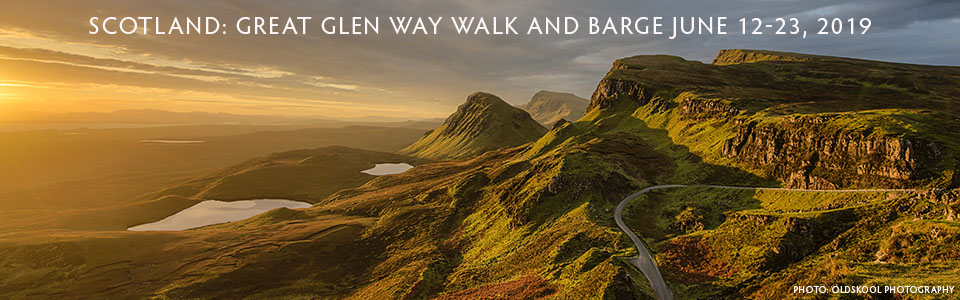 Scotland Highlands at Sunset - Now $450 off Adventure Travel Trip