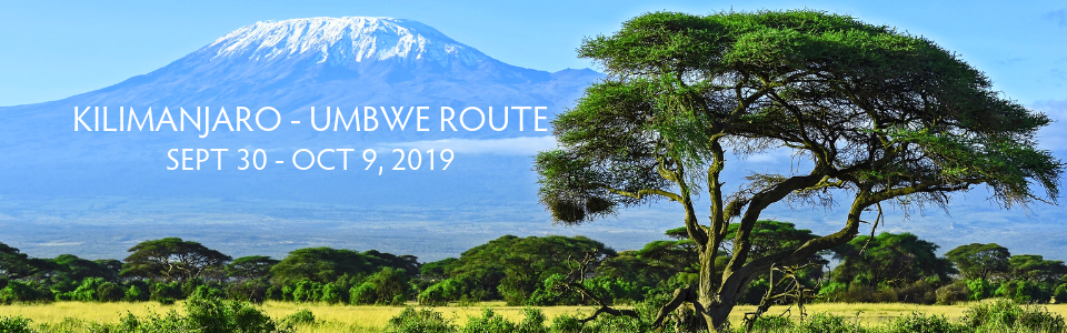 Kilimanjaro Adventure Travel Trip - September 30- October 9