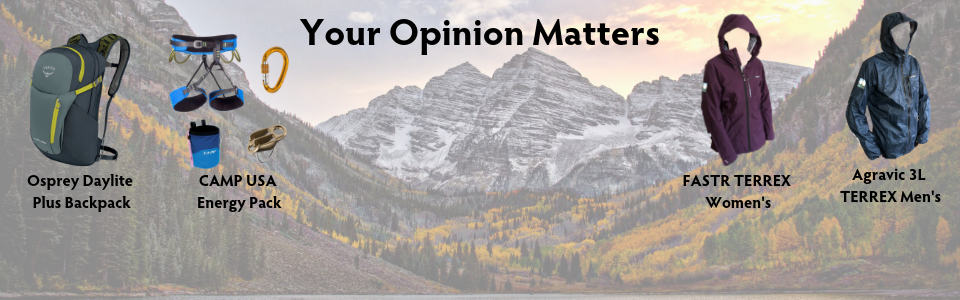 Your Opinion Matters - Please take our survey for your chance to win some awesome prizes