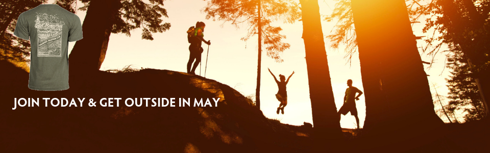 Join today and get outside in May - meet friends and free t-shirt