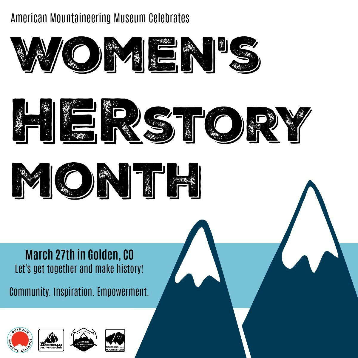 Women's Herstory Month at the American Mountaineering Museum