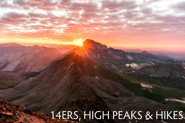 14ers, High Peaks, and Hikes