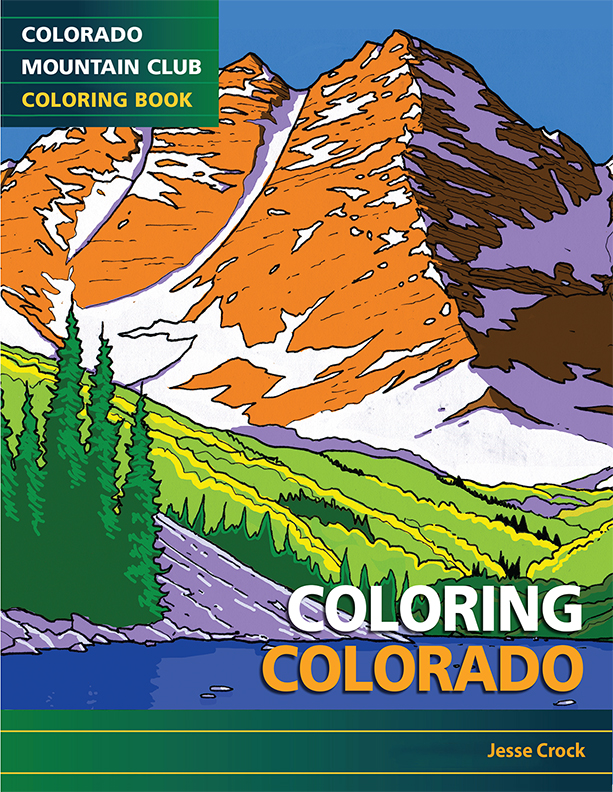 Coloring Colorado Features Drawings Of Some The States Iconic Peaks Such As Crestone Needle Lone Eagle Peak Mount Holy Cross And Maroon