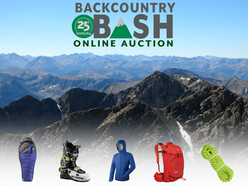 Backcountry Bash Auction